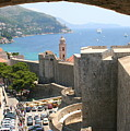 Beyond The Walls Of Old Dubrovnik by Laurel Talabere