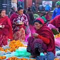 Bhaktapur Holi Market by Lindley Johnson