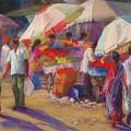 Bhuj Street Market by Beth Brooks