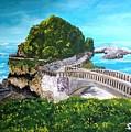 Biarritz Bridge by Irving Starr