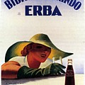 Bibita Tamarindo - Erba - Vintage Drink Advertising Poster by Studio Grafiikka