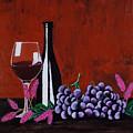 Bicchiere Di Vino by Renae Shore