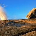 Bicheno Blowhole by Mike  Dawson