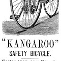 Bicycle Ad, 1885 by Granger