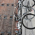 Bicycle And Building by Aya Edlin
