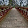Bicycle Bridge - Niagara On The Lake by Leslie Montgomery