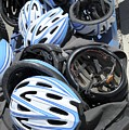 Bicycle Helmets by Photostock-israel