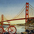 Bicycle In San Francisco by Irina Sztukowski