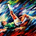 Bicycle Kick by Leonid Afremov