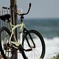 Bicycle On The Beach by Julie Niemela