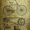 Bicycle Patent  1890 by Chris Smith