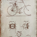 Bicycle Patent Drawing 4a by Brian Reaves