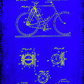 Bicycle Patent Drawing 4b by Brian Reaves