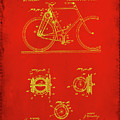 Bicycle Patent Drawing 4c by Brian Reaves