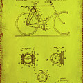 Bicycle Patent Drawing 4d by Brian Reaves