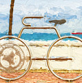 Seaside Bicycle Stand by Les Palenik