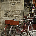 Bicycles  Dinan  France by Mark Coran