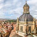Bierdview Of Historic City Of Salamanca by JR Photography