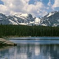 Bierstadt Lake Hallett And Otis Peaks Rocky  Mountain National Park by NaturesPix