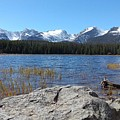 Bierstadt Lake In Rocky Mountain National Park by Jennifer Forsyth