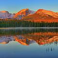 Bierstadt Lake Morning Panorama by Greg Norrell