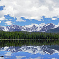 Bierstadt Lake Panorama by Brian Kerls