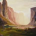 Bierstadt Rendition by Gail Eisenfeld