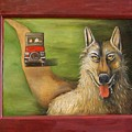 Big Bad Wolf by Leah Saulnier The Painting Maniac