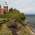 Big Bay Point Lighthouse 2 by John Brueske