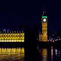 Big Ben Along The Thames by Greg Plamp