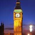 Big Ben At Night by Dan Breckwoldt