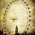 Big Ben In The London Eye by Joan McCool