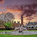 Big Ben London by Nina Ficur Feenan