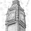 Big Ben London by Vlado Ondo