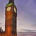 Big Ben Twilight In London by Terri Waters