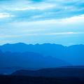 Big Bend Blue Haze by Rospotte Photography