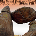 Big Bend Poster 11816 by Rospotte Photography