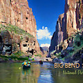 Big Bend Texas National Park Mariscal Canyon by Elaine Plesser