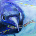 Big Blue Bird by Brenda Peo