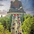 Big Buddha by Bibhash Chaudhuri