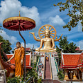 Big Buddha Temple by Adrian Evans