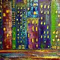 Big City Lights  by Susan Hendrich