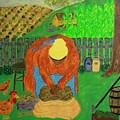 Big Mama Sorting Potatoes by Suzon Lemar