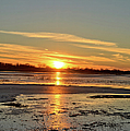 Big Marsh Sunset 4 by Bonfire Photography