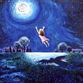 'big Moon Hug' by Jerry Kirk