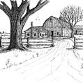 Big Oak Dairy Farm by Jack G  Brauer