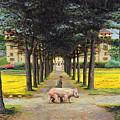 Big Pig - Pistoia -tuscany by Trevor Neal