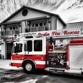 Big Red Fire Truck by Mel Steinhauer