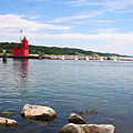 Big Red Light On The Lake by IMH Photog