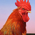 Big Red Rooster by James W Johnson